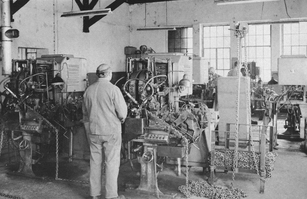 Elektroschmiede, Kettenfabrik Koch Sichtigvor