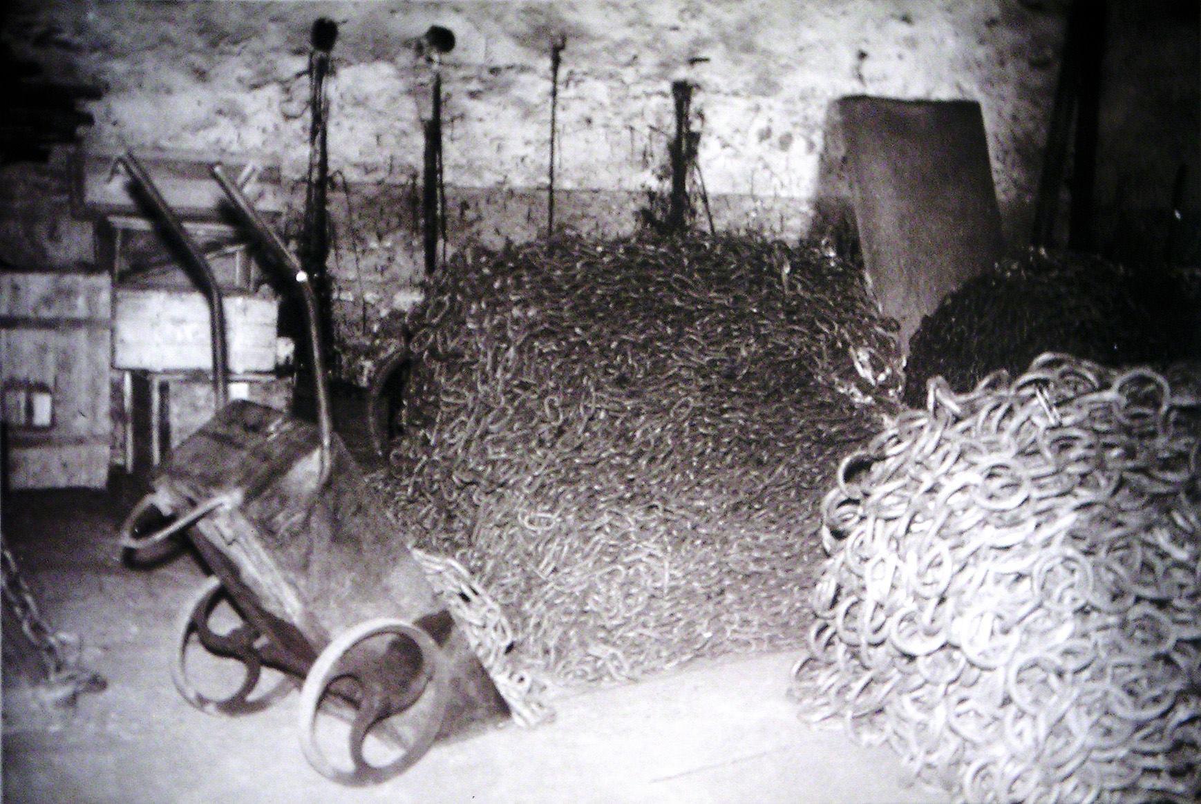 geschmiedete Ketten, Kettenfabrik Koch Sichtigvor