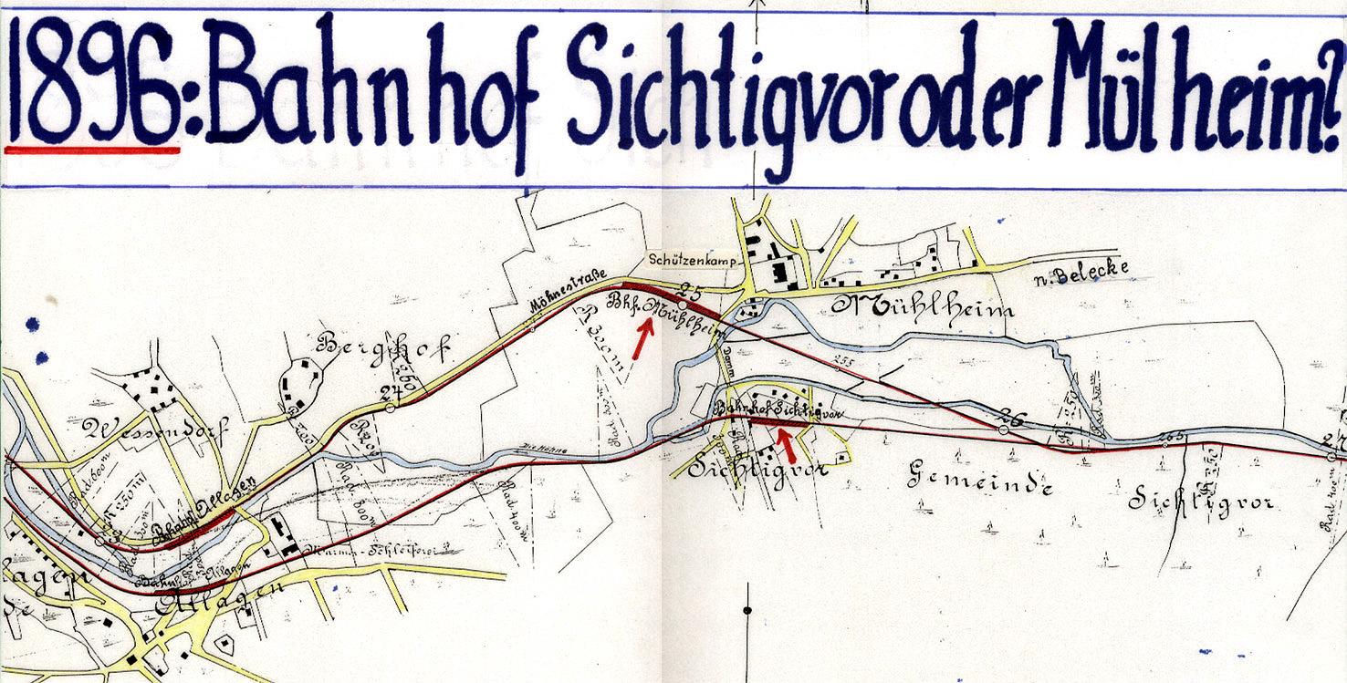 Planungen 1896