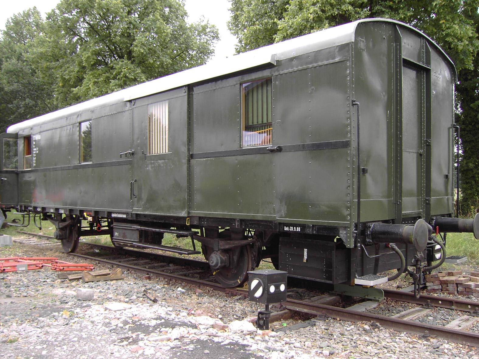 Restaurierung im Bf. Heintrop