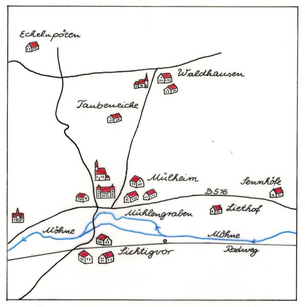 Das Kirchspiel Mülheim