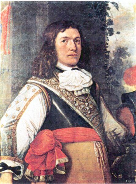 F.-W. von Fürstenberg, Bauherr des Ordensschlosses